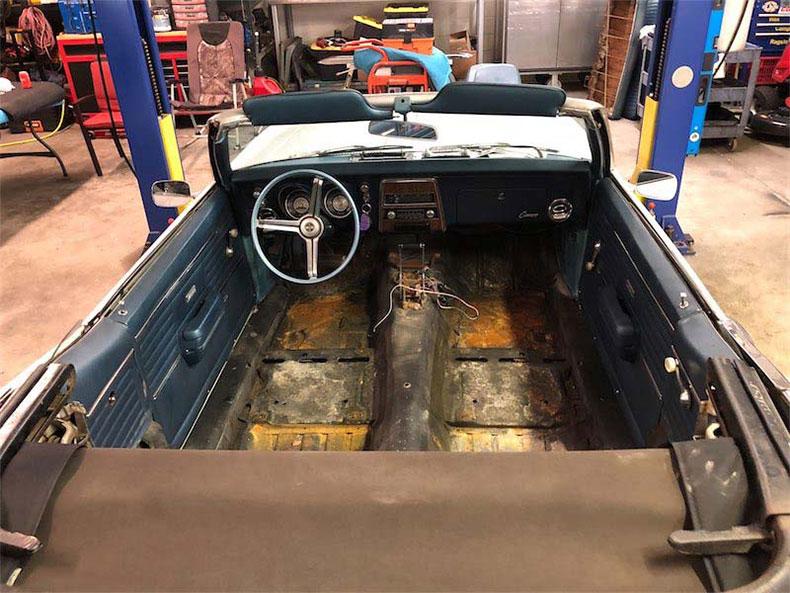 Grandpa's 1968 Camaro Convertible