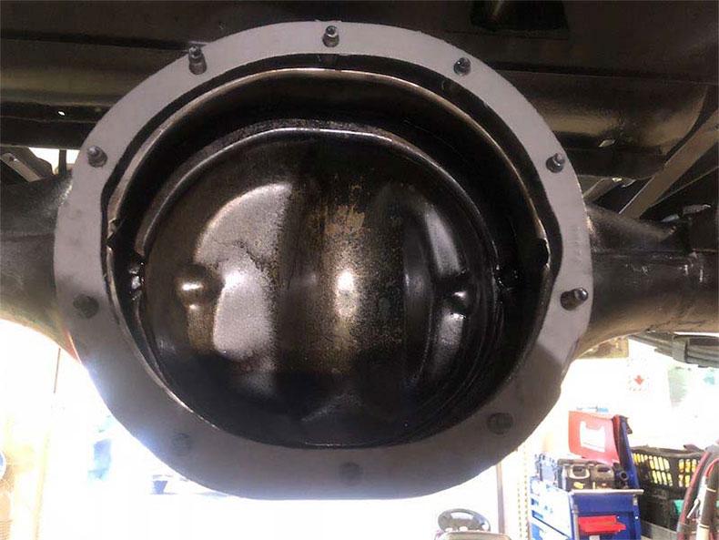 9 inch rear housning