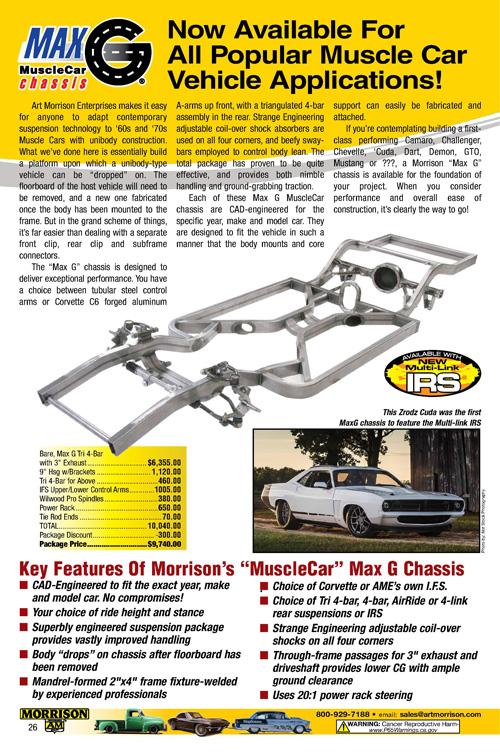 AME MaxG Chassis TRI-4 BAR