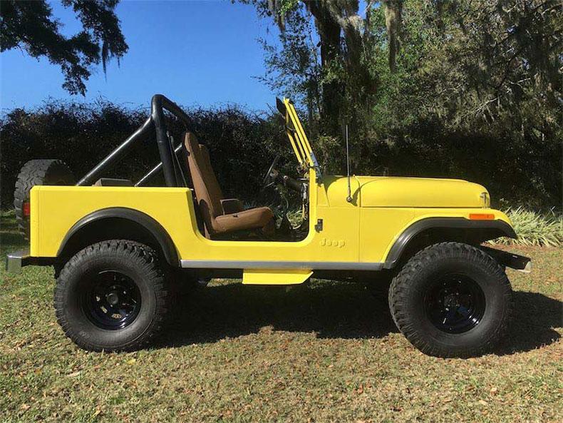 cj 7 green jeep restorations all done