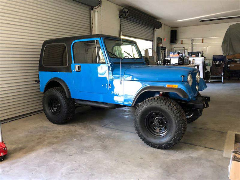 blue jeep builds restoration