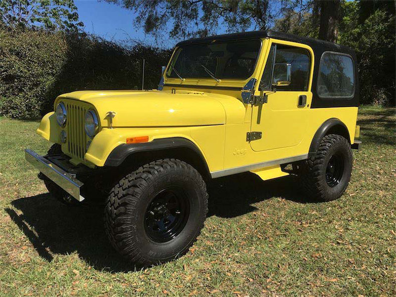 cj7 jeep sunshine 1