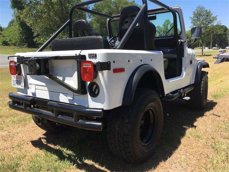 cj 7 white jeep builds restoration