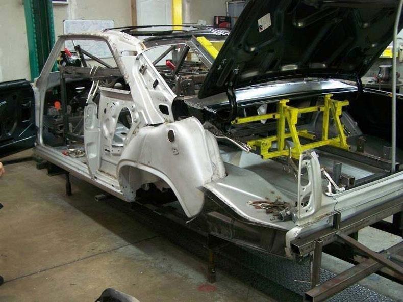 steel replacement bodies chevy nova II steel body
