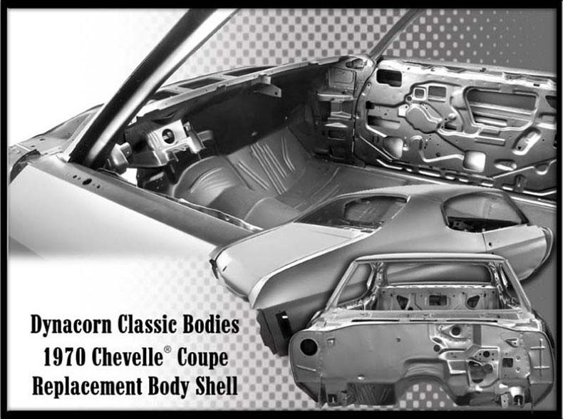 dynacorn classic bodies 1970 chevelle coupe body
