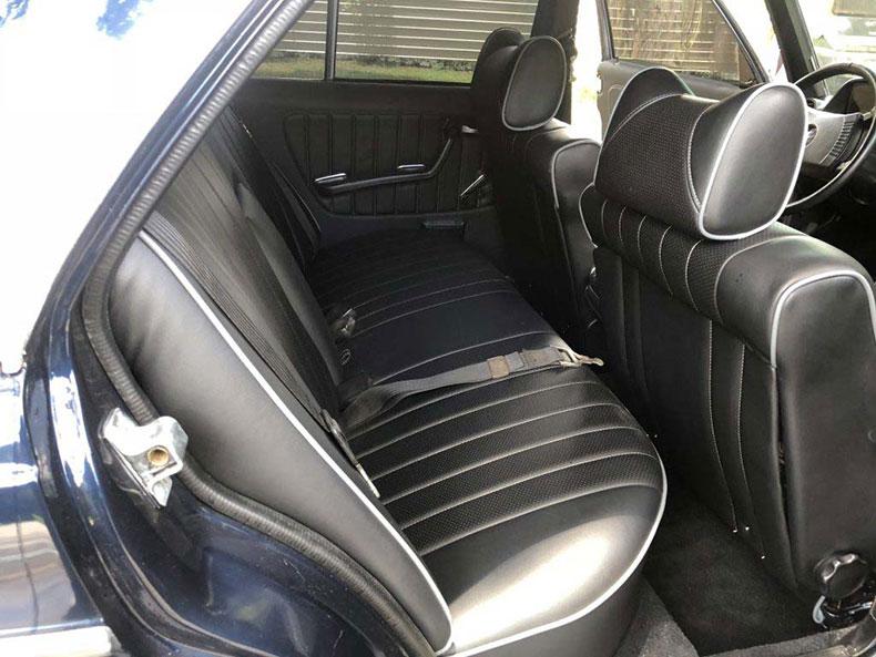 grendpas 1978 mercedes back seats