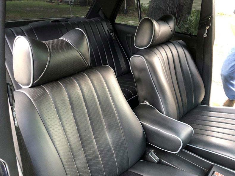 grendpas 1978 mercedes resto seats