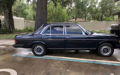 Grandpa's 1978 Mercedes Restoration