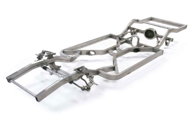 maxgmuscle car TRI-4 bar chassis