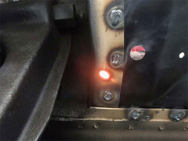 welding spot