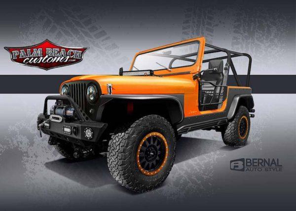 cj 7 new jeep