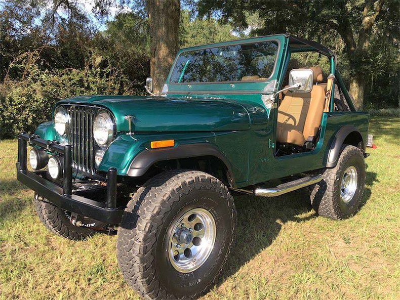 green jeep color beast