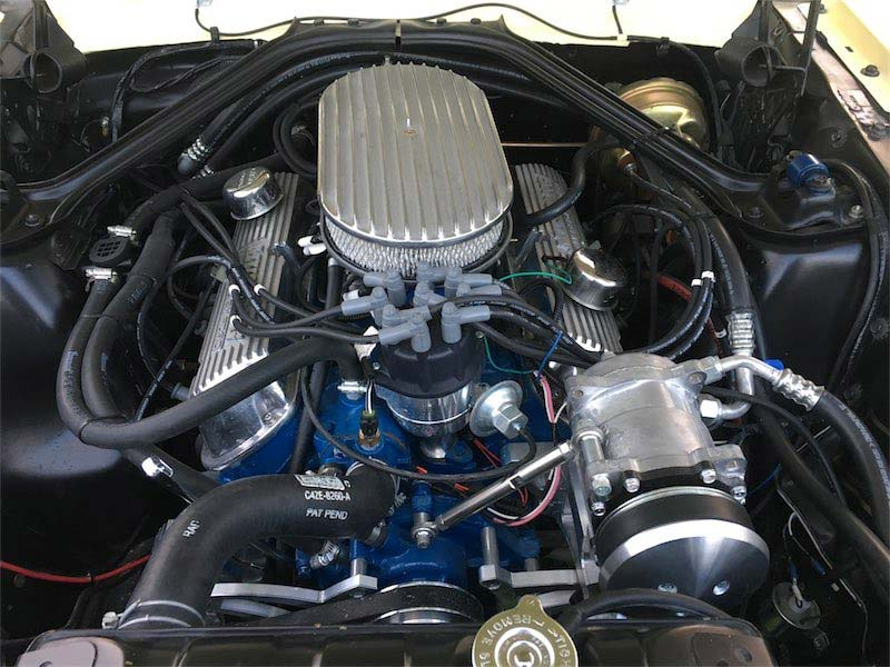 mustang engine installment