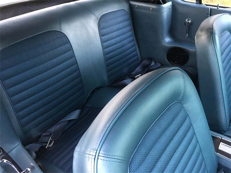 mustang new seats setup