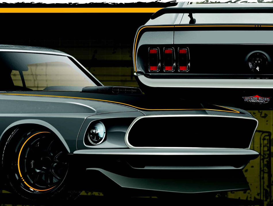 Muscle Car Restoration Mustang Options