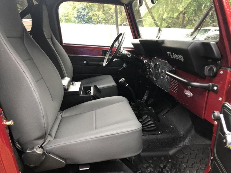 1982 jeep cj7 interior