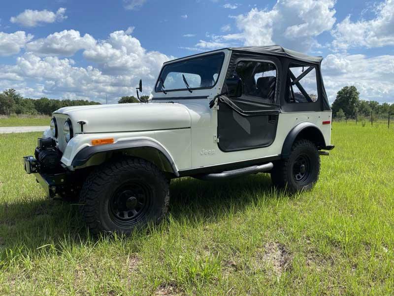 1978 Jeep CJ7 Levi Edition Complete Frame-Off Restoration