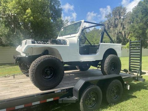 Marty's White Satin 1989 Jeep YJ Restoration