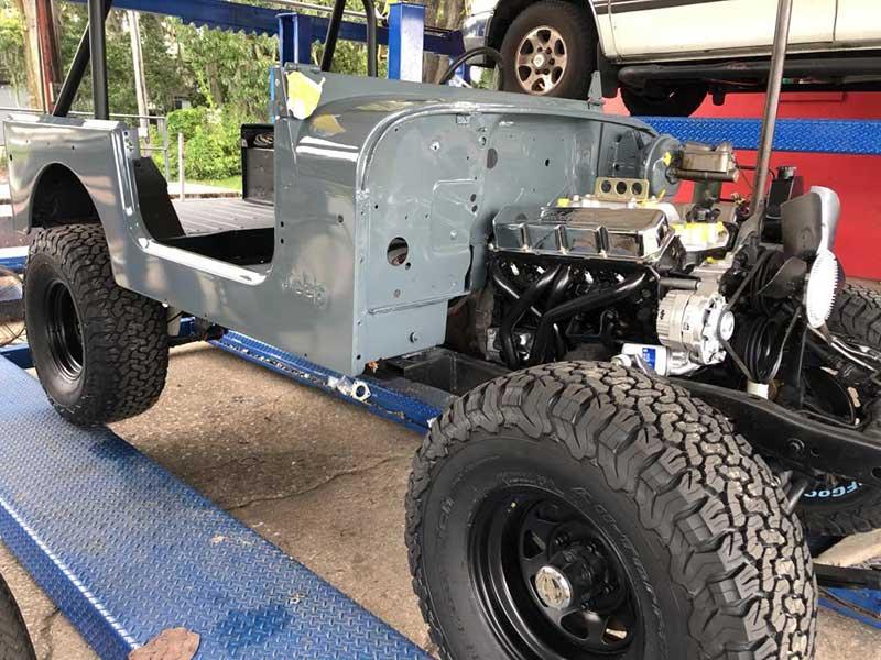 Assembling Adam's V8 1978 Jeep CJ7