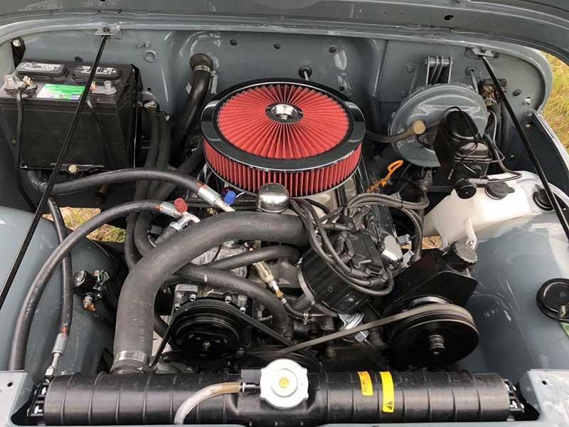 New Engine Of Adam's V8 1978 Jeep CJ7