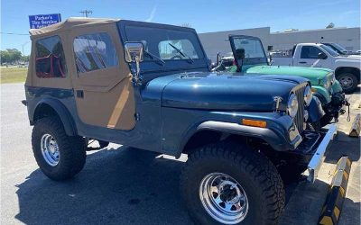 Stephanie's 1982 Jeep CJ7 Restoration At Palm Beach Customs
